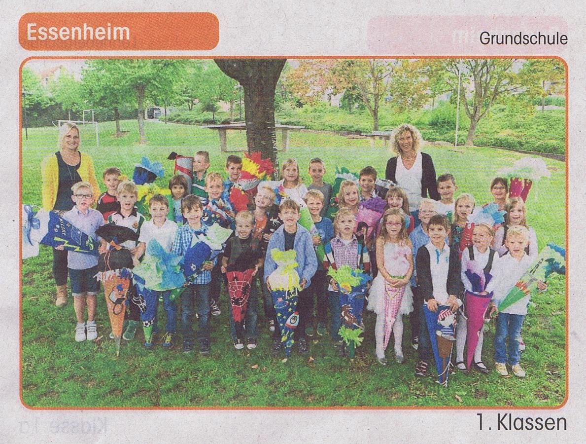 2014.09.20. Klassenfoto 1. Klassen