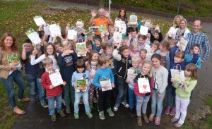 2014.10.17. Lesetütenübergabe Grundschule Essenheim