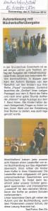 2015.02.05. Artikel Nachrichtenblatt Autorenlesung