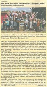 2015.07.16. Nachrichtenblatt Für eine bessere Betreuende Grundschule