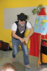 2016.01.29. LeseTheater Michael Hain - Cowboy Klaus Klasse 1b 03