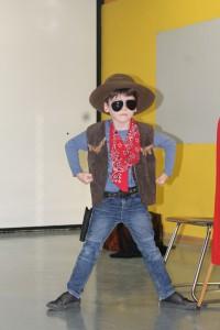 2016.01.29. LeseTheater Michael Hain - Cowboy Klaus Klasse 1b 06
