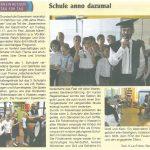 2016.06.23. Nachrichtenblatt der VG Schule anno dazumal