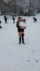 2017.01.10. Im Schnee 3. Klassen Bild 2